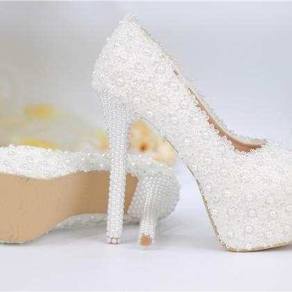 2019 In Stock Sparkle Wedding Heels..