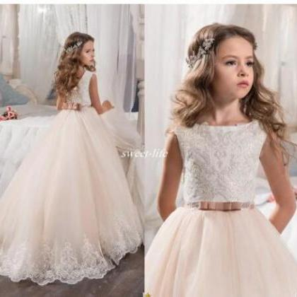 Custom Made Flower Girl Dresses for..