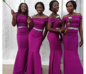 Modest Bridesmaid D..