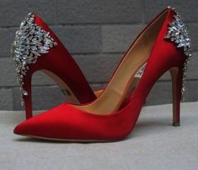 Red Pointed Toe High..