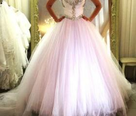2016 Ball Gown Tull..