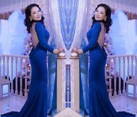 Royal Blue Mermaid L..