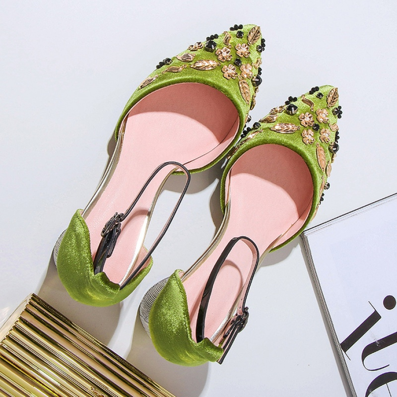 7d2f344908780 Vintage Ladies High Heel Sandals Women Wedding Shoes 2018 Green/black High  Heel Bridal Shoes For Wedding Evening Party Prom Shoes