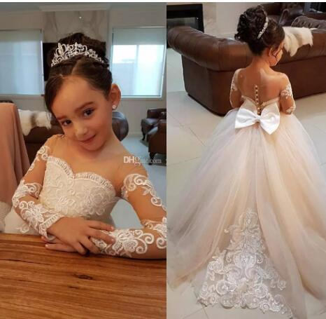 Hi-Lo Custom Wedding Bride Flower Girl/'s Dresses Purple Lace Applique Sleeveless