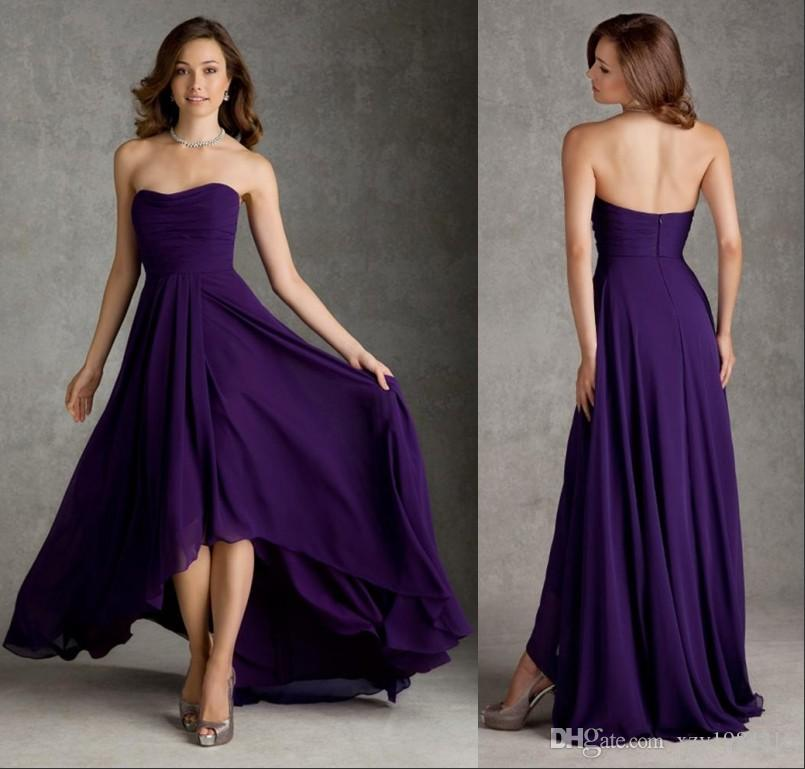 Dark Purple Dress
