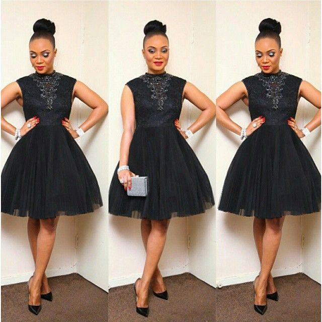 Short Lace Homecoming Dress Cocktail Dresses 2017 Aso Ebi Style Little Black Prom Party Gowns Knee Length Beaded Jewel Neck Plus Size Formal Occasion Wear