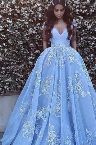 Off The Shoulder Prom Dresses Long Light Lavender Lace Appliques Cocktail Party Dress Zipper Sexy Formal Dresses Evening Wear