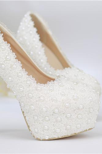 2019 In Stock Sparkle Wedding Heels Women Pumps 10 cm High Heels Wedding Bridal Shoes Crystals Lace Pointed Toe High Heels