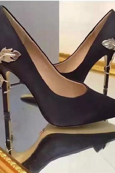 Black for wedding silk bridal heels evening prom shoes