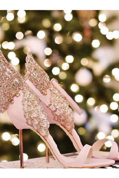 blush pink PU stiletto wedding shoes for wedding evening/prom/party/dinner same as the vampire diaries