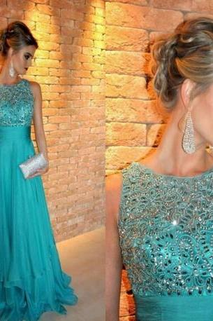 Hunter Long Evening Dresses 2018 Elegant Party Long Special Occasion Lace Crystal Real Pictures Abiye Formal Prom Gowns