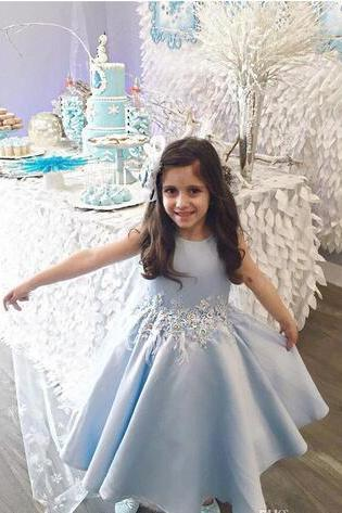Sparkly Crystals Flower Girls Dresses for Weddings 2018 Glitz Girls Prom Dress Floor Length Tulle Cheap Pageant Dress for Girls