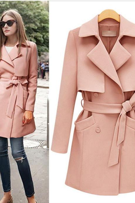 2016 Popular Hot Sale High Quality New Arrive Autumn/Winter Women's Outerwear women winter woolen Coats