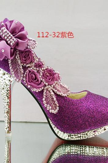 2015 In Stock Sparkle Women Pumps High Heels Fashion Pointed Toe High Heels