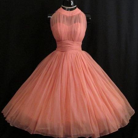 1950S Vintage Prom Party Gowns 2016 Crew Neck Mini Short Homecoming Party Dress