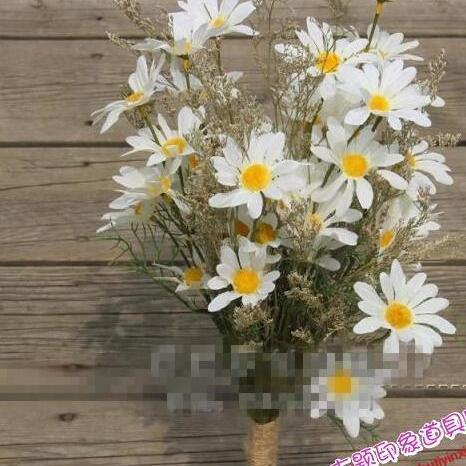 New Arrival Wedding Bouquet Handmade Flowers Yellow & White Bridal Bouquet Wedding bouquets
